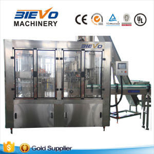 Automatic Plastic Bottle Carbonated Soft Drink Water Filling Machine pictures & photos