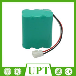 AA 7.2V Ni-CD Rechargeable Battery Pack for Emergency Light