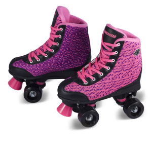 Soft Boot Quad Roller Skate for Adults (QS-42) pictures & photos