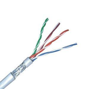 High Quality Cat 5e FTP Network Cable pictures & photos