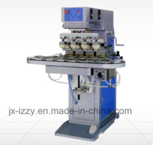 4 Color Shuttle Pad Printing Machine