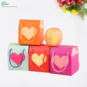 Christmas Packaging Gift Box Apple Box with Handle (KG-PX082)