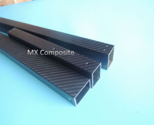 Rectangular 3k Carbon Fiber Pipe in High Quality pictures & photos