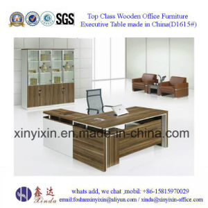 China Modern Office Furniture Melamine Manager Office Table (D1615#) pictures & photos