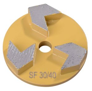 Diamond Grinding Shoes for Velcro Grinding Wheel for Stonekor pictures & photos