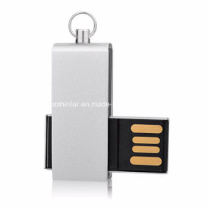Swivel Metal USB Flash Drive USB3.0 Thumbdrive Mini USB Stick pictures & photos