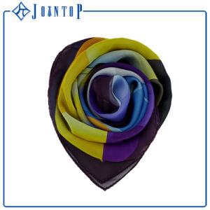 High-Grade Material 100% Silk Smoothness Beautiful Scarf pictures & photos