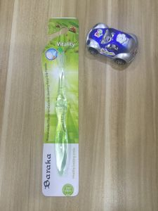 Eco-Friendly Children Toothbrush with Toy Car pictures & photos