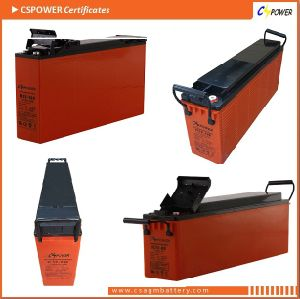 12V 150ah Best Front Terminal Gel Battery for Telecom, UPS pictures & photos