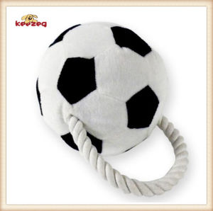 Pet Plush Toy Football Style Dog Rope Toy (KB0026) pictures & photos