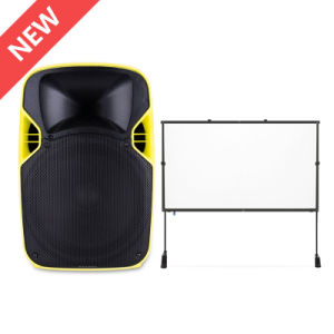 2017 Best Wireless DJ Disco Outdoor Powered LED Projection Loudspeaker pictures & photos