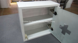 Hight Quality White Metal Cabinet, Medicine Cabinet with Power Coated pictures & photos