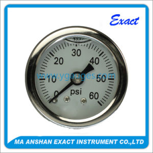 Hydraulic and Pneumatic Liquid Filled Mechanical Pressure Gauge pictures & photos