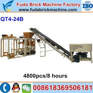 Medium Qt4-24b Brick Molding Machine/Paver Brick Machine for Sale pictures & photos