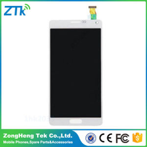 OEM Quality Mobile Phone LCD Display for Samsung Note 4 Touch Screen pictures & photos