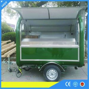 Yieson Made Food Cart Trailer for Snack pictures & photos