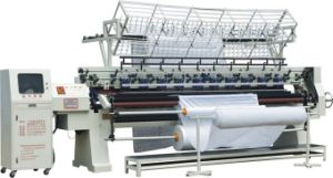 128 Inches Industrial Computeried Multi Needle Quilting Machine pictures & photos