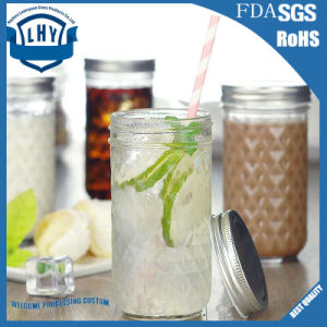 350ml Mason Luo Ge Roe Sauce Jam Cup Lead-Free Glass Bottle