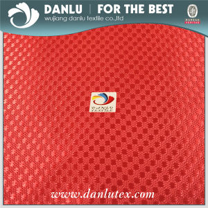 250d*300d PU Coated DOT Pattern Jacquard Oxford Fabric Plain Dyed cosmetic School Bag Fabric pictures & photos