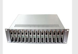Fiber Optic Media Converter 14 Slot Converter Rack Mount pictures & photos