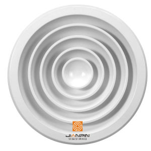Powder Coated Ventilation Air Diffuser for Round Ceiling Diffuser Parts pictures & photos