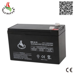12V 7ah VRLA Rechargebale Lead Acid Mf Battery for UPS pictures & photos