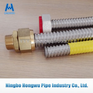 En15266 Pliable Corrugated Csst Hoses pictures & photos