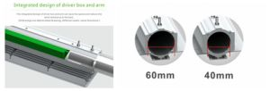 China Factory Low Price IP67 Waterproof Outdoor Luminaire Street Light 90 Watt LED Road Light 90W pictures & photos
