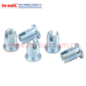 Self-Tapping External Threaded Insert Withd Cutting Slot pictures & photos
