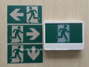 Canada Type 347V/120V Ni-CD Battery Backup LED Running Man Exit Sign pictures & photos