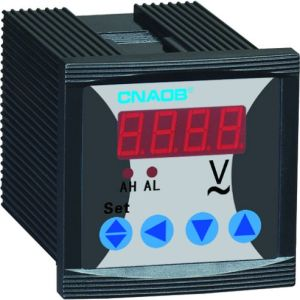 Single Phase Digital Voltmeter with Alarm Size 48*48 AC500V pictures & photos