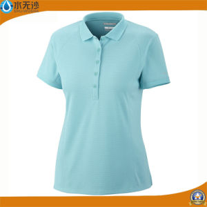 Wholesale Women Plain Polo Shirts Fitness Sport Polo Shirts pictures & photos