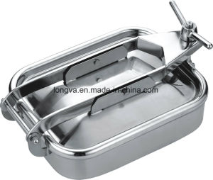 Stainless Steel Sanitary Manway with Sight Glass pictures & photos