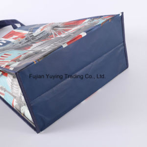 Laminated Tote Non Woven Shopping Bag with Customizd Size (YYNWB064) pictures & photos