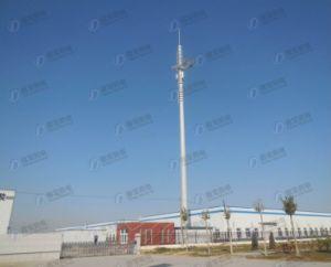 Single Tube Telecom Antenna Tower pictures & photos