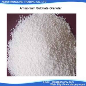 Nitrogen Fertilizer Ammonium Sulphate Granular N 21% pictures & photos