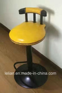 Comfortable High Leg PU Upholstered Bar Stool Bar Chairs (LL-BC075) pictures & photos
