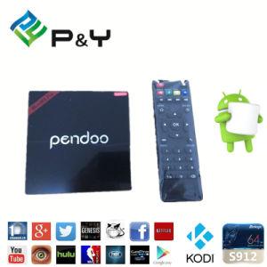 TV Box S912 2016 Pendoo Minix PRO Plus Amlogic S912 Kodi 17.0 2g 16g TV Box pictures & photos