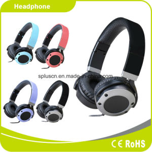 2017 New Style Metal Style Black Headphone/Headset pictures & photos