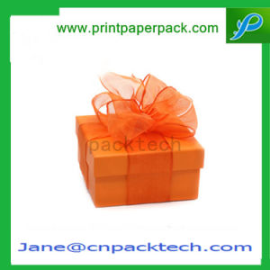 Custom Ribbon Gift Packaging Cardboard Paper Packing Box pictures & photos