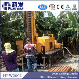 Hfw200L Water Well Rotary Drilling Rig for Sale pictures & photos