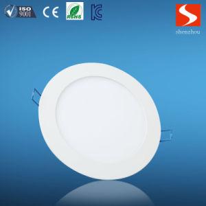 6W Slim Round LED Panel pictures & photos