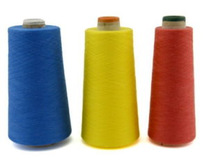 100% Dope Dyed Meta Aramid Yarn for Sewing Thread