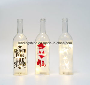 Christmas Starlight Bottle LED Light up Decoration with Message for Love pictures & photos
