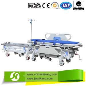 Medical Appliances Luxury Hosptial Patient Trolley pictures & photos
