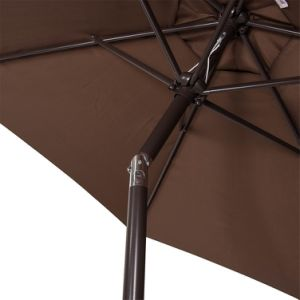 Outdoor 8.2 FT Patio Garden Outdoor Market Umbrella with Push Button Tilt pictures & photos