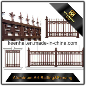 Power Coated Cast Aluminum Metal Garden Fence for Villa Security pictures & photos