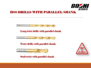 HSS Twist Drills with Parallel Shank pictures & photos