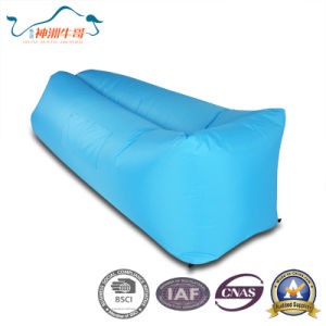 High Quality New-Style Nylon Air Lazy Sleeping Bag pictures & photos