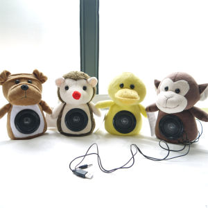 New Novelty Plush Toy Sound Box Loudspeaker pictures & photos